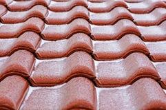 Керамическая крыша Стоковая Фотография