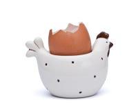 керамическая курица Стоковая Фотография