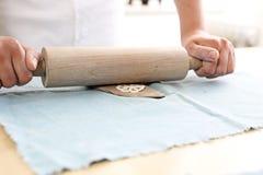 Керамическая мастерская для детей стоковая фотография rf