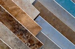 керамическая плитка образцов Стоковая Фотография