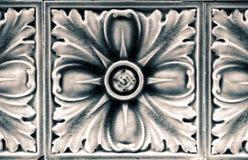 Керамическая плитка цветка Стоковые Изображения