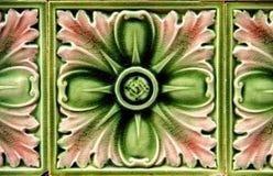 Керамическая плитка цветка Стоковая Фотография