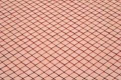 керамическая померанцовая крыша Таиланд Стоковое Изображение RF