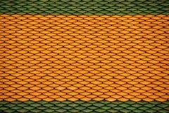 Керамическая плитка на крыше церков Buddhish Стоковая Фотография