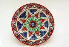 керамическая тарелка Стоковые Фото