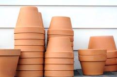 Керамические вазы Стоковая Фотография RF