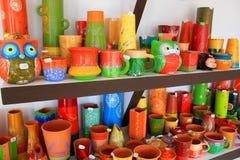 Керамические вазы Стоковые Фотографии RF