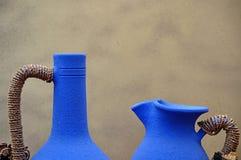 керамические 2 вазы Стоковые Изображения