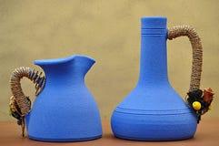 керамические 2 вазы Стоковые Фото