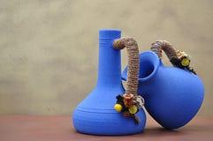 керамические 2 вазы Стоковая Фотография RF