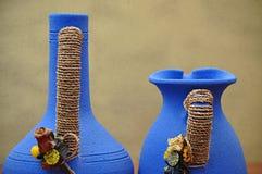 керамические 2 вазы Стоковое Фото