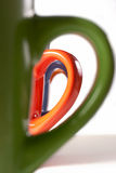 керамические кружки пестротканые Стоковая Фотография