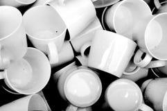 керамические кружки Стоковые Изображения