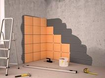 керамические кладя плитки бесплатная иллюстрация