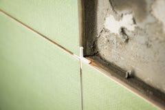 керамические кладя плитки Стоковая Фотография