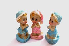 Керамические моля игрушки Стоковое фото RF
