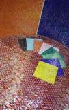 керамические плитки дисплея Стоковая Фотография RF