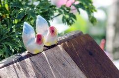 Керамические птицы Стоковые Изображения