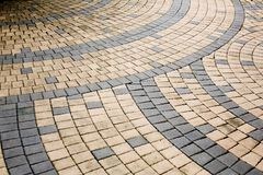 Керамические плитки мозаики в коричневом цвете Стоковые Фото