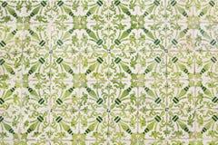 Керамические плитки на стене дома Стоковые Фото