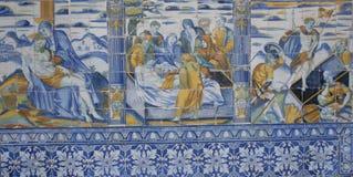 Керамические плитки от Talavera, Talavera de Ла Reina, Стоковое Изображение
