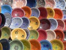керамические тарелки Стоковые Изображения RF