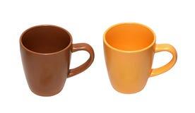 керамические чашки Стоковое фото RF