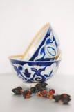 керамические чашки Стоковые Фотографии RF