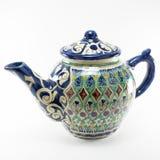 Керамический азиатский чайник Стоковое фото RF