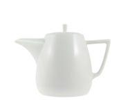 Керамический изолированный чайник Стоковое Изображение