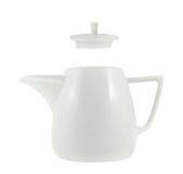 Керамический изолированный чайник Стоковая Фотография