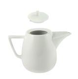 Керамический изолированный чайник Стоковые Фото