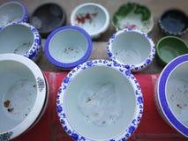 керамический китайский цилиндр одно конструкции уникально стоковое фото