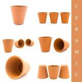 керамический комплект Стоковые Фотографии RF