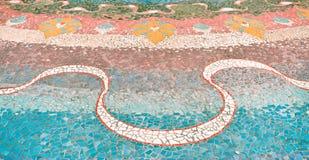Керамический - мозаика Стоковая Фотография