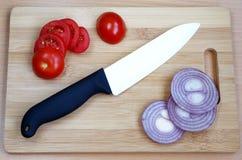 Керамический нож для долгосрочного вырезывания Стоковое Фото