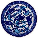 керамический орнамент Стоковое Фото
