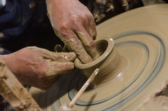 Керамический от handmade стоковая фотография rf