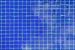 Керамический плиточный пол в бассейне стоковое фото