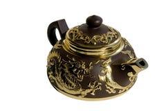 керамический чайник Стоковое Фото