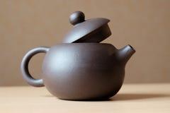 керамический чайник Стоковая Фотография
