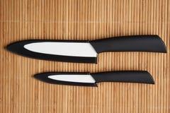 2 керамических ножа Стоковая Фотография