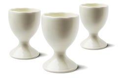 3 керамических чашки Стоковое Фото