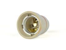 Керамическое гнездо электрической лампочки Стоковое Изображение RF