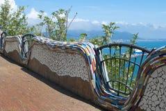 Керамическое искусство от деревни конематки sul Vietri, полуостровом Амальфи Стоковое Фото