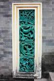 Керамическое окно Стоковая Фотография