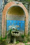 керамическое regaleira fontain Стоковое Изображение