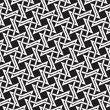 Кельтская безшовная картина пересекать четырехточечные тернии Стоковые Фотографии RF