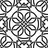Кельтская безшовная картина Стоковые Фотографии RF