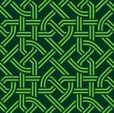 Кельтская безшовная картина Стоковое Фото